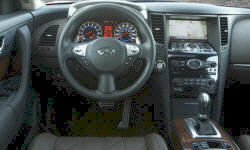 SUV Models at TrueDelta: 2011 Infiniti FX interior