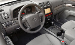 SUV Models at TrueDelta: 2009 Kia Borrego interior