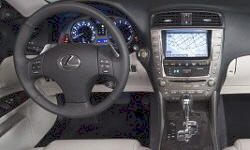Convertible Models at TrueDelta: 2010 Lexus IS interior