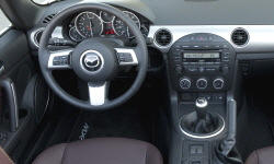 Mazda Models at TrueDelta: 2012 Mazda MX-5 Miata interior