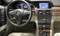Mercedes-Benz Models at TrueDelta: 2012 Mercedes-Benz GLK interior