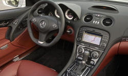 Convertible Models at TrueDelta: 2012 Mercedes-Benz SL interior
