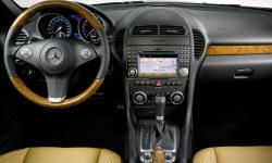 Convertible Models at TrueDelta: 2011 Mercedes-Benz SLK interior