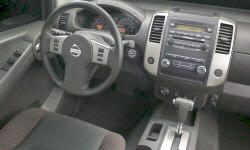 SUV Models at TrueDelta: 2015 Nissan Xterra interior