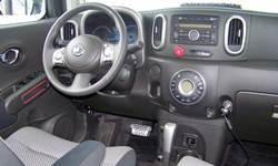 Nissan Models at TrueDelta: 2014 Nissan cube interior