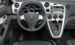 Hatch Models at TrueDelta: 2010 Pontiac Vibe interior