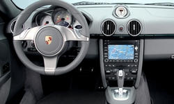 Convertible Models at TrueDelta: 2012 Porsche Boxster interior