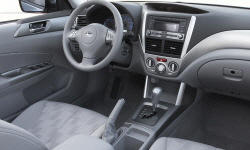 SUV Models at TrueDelta: 2010 Subaru Forester interior