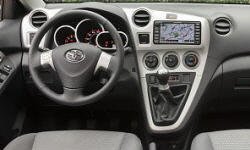 Toyota Models at TrueDelta: 2013 Toyota Matrix interior