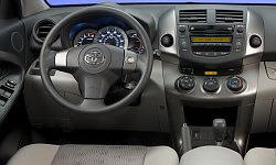 Toyota Models at TrueDelta: 2012 Toyota RAV4 interior