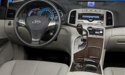 SUV Models at TrueDelta: 2015 Toyota Venza interior