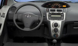 Toyota Models at TrueDelta: 2011 Toyota Yaris interior
