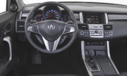 Acura Models at TrueDelta: 2012 Acura RDX interior