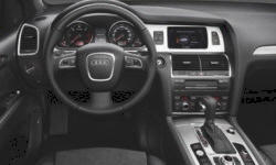 SUV Models at TrueDelta: 2015 Audi Q7 interior