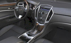 SUV Models at TrueDelta: 2012 Cadillac SRX interior