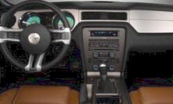 Coupe Models at TrueDelta: 2012 Ford Mustang interior