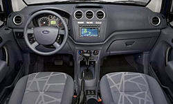 Ford Models at TrueDelta: 2013 Ford Transit Connect interior