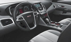 GMC Models at TrueDelta: 2015 GMC Terrain interior