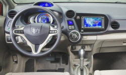 Hatch Models at TrueDelta: 2011 Honda Insight interior