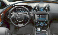 Jaguar Models at TrueDelta: 2015 Jaguar XJ interior