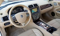 Convertible Models at TrueDelta: 2015 Jaguar XK interior