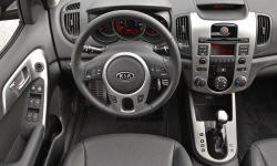 Coupe Models at TrueDelta: 2013 Kia Forte interior