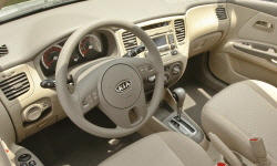 Hatch Models at TrueDelta: 2011 Kia Rio interior
