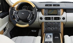 SUV Models at TrueDelta: 2012 Land Rover Range Rover interior
