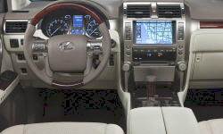 SUV Models at TrueDelta: 2013 Lexus GX interior