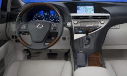 SUV Models at TrueDelta: 2012 Lexus RX interior