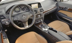 Convertible Models at TrueDelta: 2013 Mercedes-Benz E-Class (2-door) interior