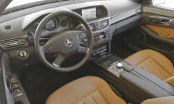Wagon Models at TrueDelta: 2013 Mercedes-Benz E-Class interior