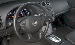 Coupe Models at TrueDelta: 2012 Nissan Altima interior