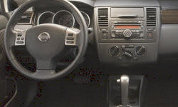 Hatch Models at TrueDelta: 2011 Nissan Versa interior