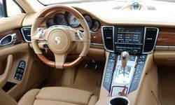 Hatch Models at TrueDelta: 2016 Porsche Panamera interior