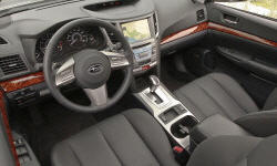 Wagon Models at TrueDelta: 2012 Subaru Outback interior