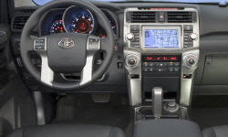 SUV Models at TrueDelta: 2013 Toyota 4Runner interior