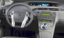 Hatch Models at TrueDelta: 2015 Toyota Prius interior