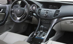 Wagon Models at TrueDelta: 2014 Acura TSX interior