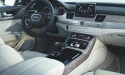 Audi Models at TrueDelta: 2014 Audi A8 / S8 interior
