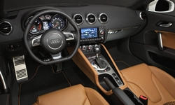 Convertible Models at TrueDelta: 2015 Audi TT interior