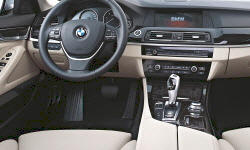 BMW Models at TrueDelta: 2013 BMW 5-Series interior
