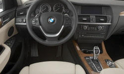 BMW Models at TrueDelta: 2014 BMW X3 interior