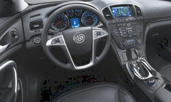 Buick Models at TrueDelta: 2013 Buick Regal interior