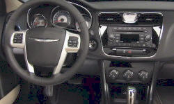 Convertible Models at TrueDelta: 2014 Chrysler 200 interior