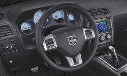 Coupe Models at TrueDelta: 2014 Dodge Challenger interior