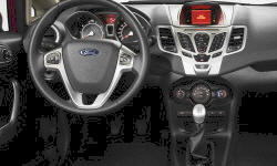 Hatch Models at TrueDelta: 2013 Ford Fiesta interior