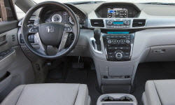 Honda Models at TrueDelta: 2013 Honda Odyssey interior