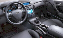 Coupe Models at TrueDelta: 2012 Hyundai Genesis Coupe interior