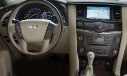 SUV Models at TrueDelta: 2013 Infiniti QX interior